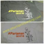 Baju sablon digital