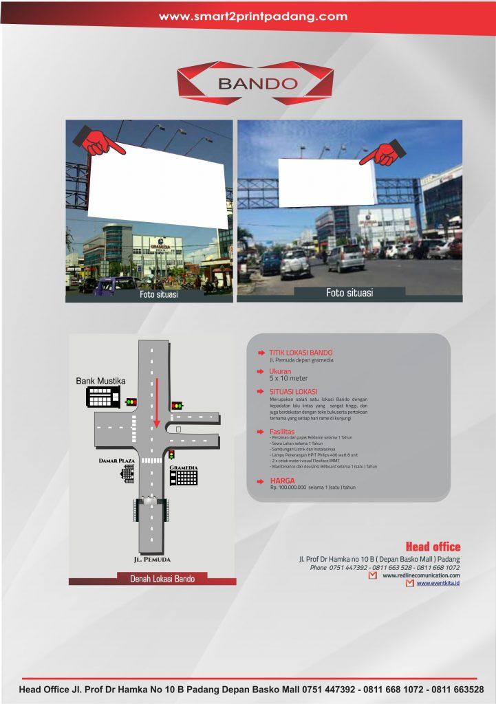 lokasi-billboard- jalan pemuda damar