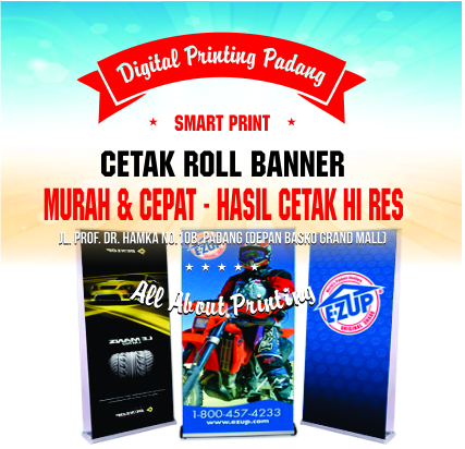 Cetak Roll Up Banner