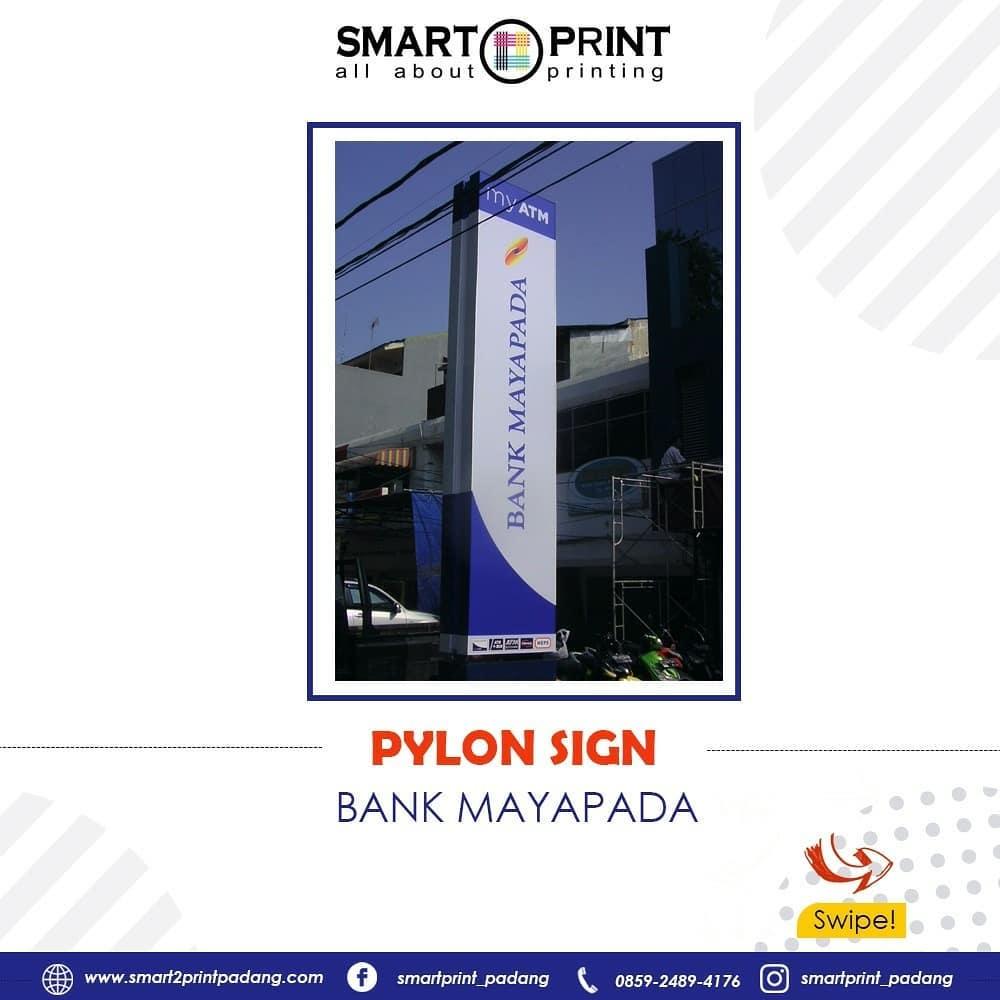 pembuatan pylon sign berkualitas